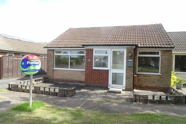 Thumbnail Semi-detached bungalow to rent in Ribblesdale Avenue, Hinckley