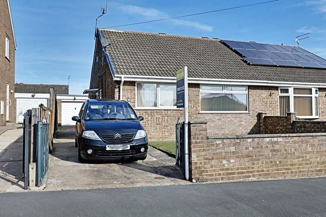 Thumbnail Semi-detached bungalow for sale in Ark Royal, Bilton, Hull