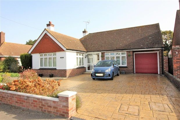 Thumbnail Detached bungalow for sale in Melrose Gardens, Clacton-On-Sea