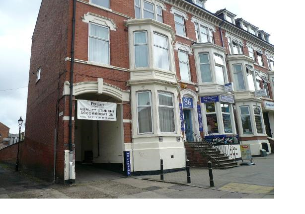 Thumbnail Flat to rent in Nimi Halls, Flat 3, 84 London Road, Leicester