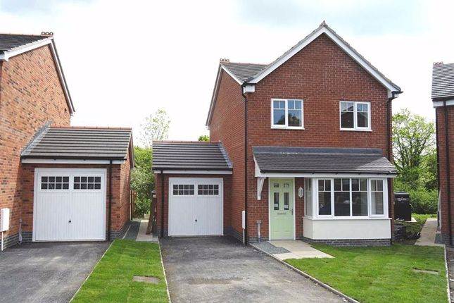 Thumbnail Detached house for sale in 62, Barley Meadows, Llanymynech, Shropshire
