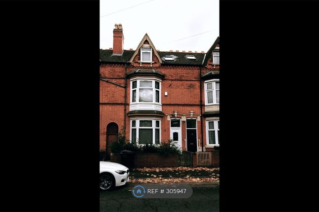 Thumbnail Terraced house to rent in Holly Road, Birmingham