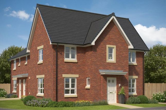 """Thumbnail End terrace house for sale in """"Abergeldie"""" at Castlelaw Crescent, Bilston, Roslin"""