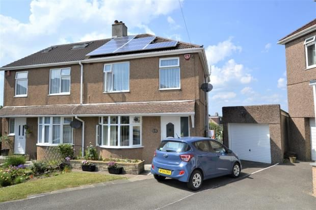 Thumbnail Semi-detached house for sale in Kirkdale Gardens, Plymouth, Devon
