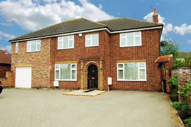 Thumbnail Detached house for sale in Colby Drive, Thurmaston, Leicester