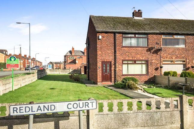 Thumbnail Semi-detached house to rent in Redland Court, Bamfurlong, Wigan