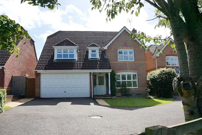 Thumbnail Detached house for sale in Finch Croft, Balsall Common, Coventry