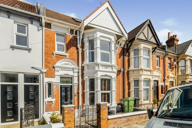 Thumbnail Terraced house for sale in Ophir Road, Portsmouth