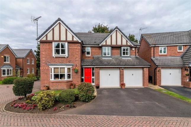 Thumbnail Detached house for sale in Bridgeford Grove, Great Bridgeford, Stafford, Staffordshire