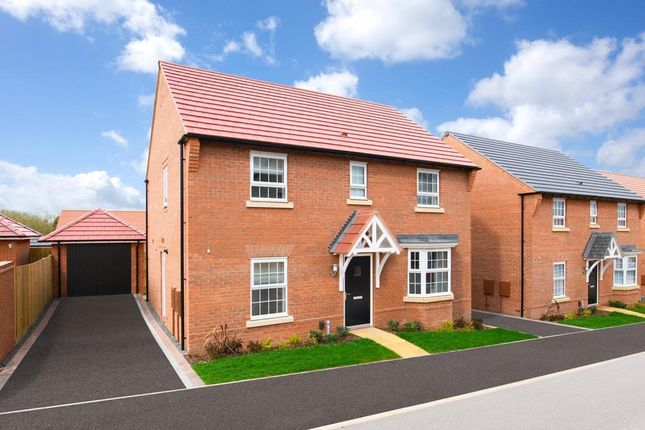 """Thumbnail Detached house for sale in """"Bradgate"""" at Kingston Way, Market Harborough"""