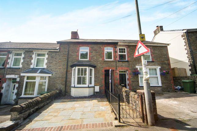 Thumbnail Terraced house for sale in Cross Inn Road, Llantrisant, Pontyclun