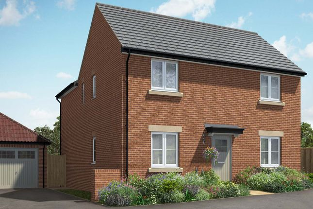 "Thumbnail Detached house for sale in ""The Deeping"" at Hill Top Close, Market Harborough"