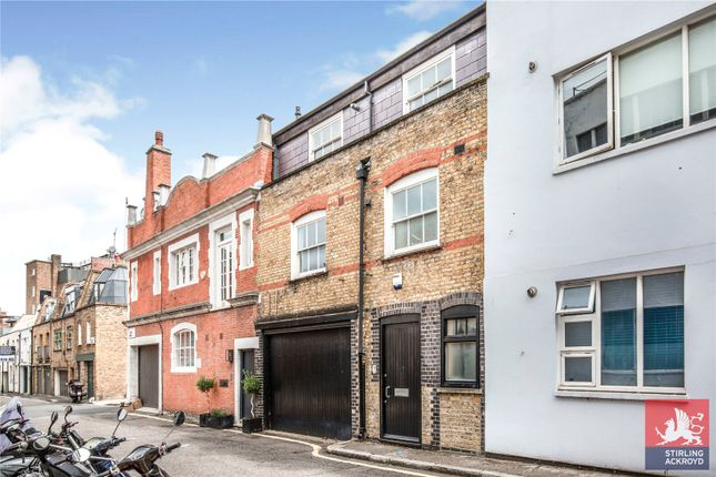 Exterior of Johns Mews, London WC1N