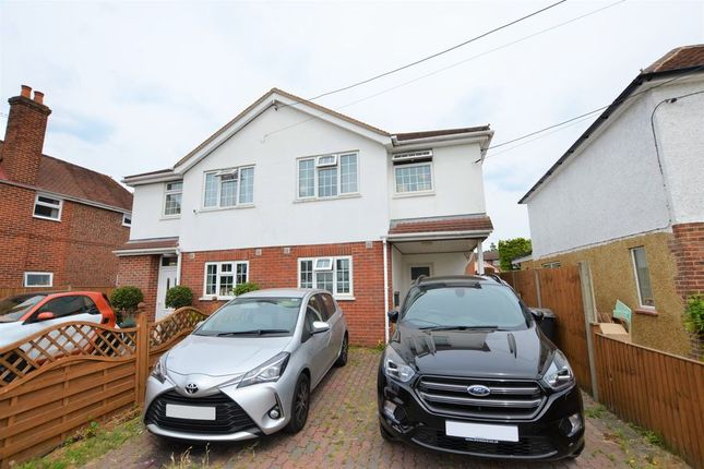 Thumbnail Semi-detached house to rent in Frimley Green Road, Frimley Green, Camberley