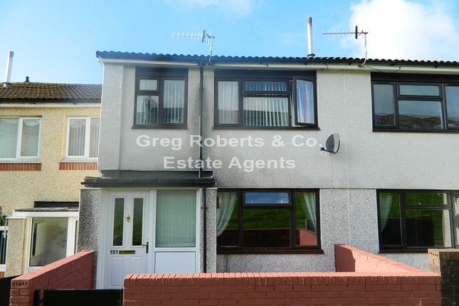 Thumbnail Terraced house for sale in Tan Y Bryn, Rhymney, Caerphilly County.
