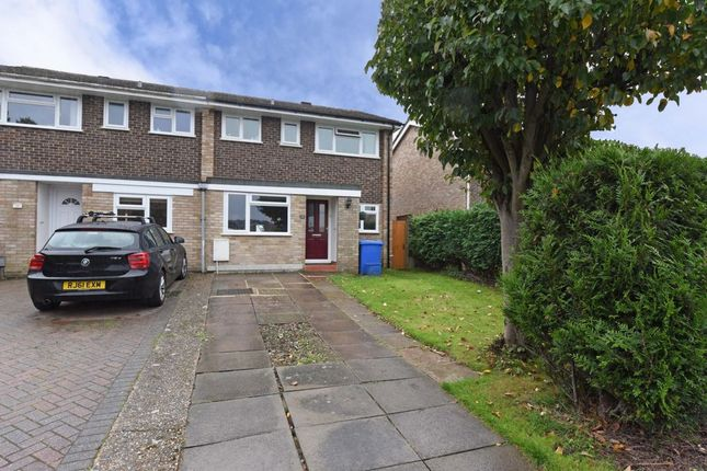 Thumbnail Semi-detached house for sale in Charlecote Close, Farnborough