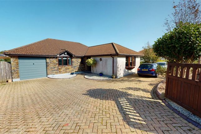 Thumbnail Detached bungalow for sale in Tregarrick Road, Roche, Cornwall