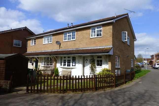 Thumbnail Semi-detached house to rent in James Close, Chippenham