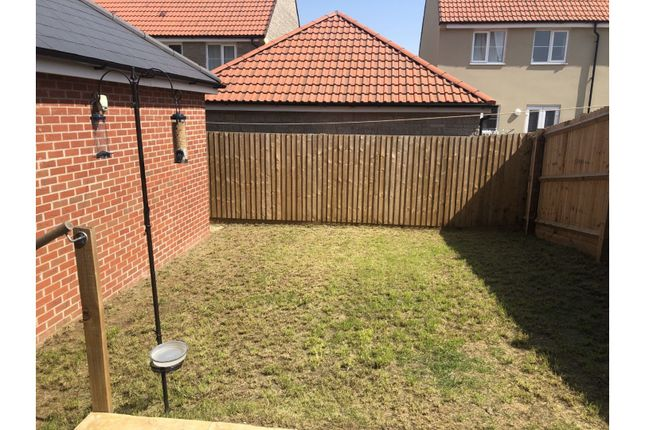 Garden of Harebell Road, Lyde Green BS16
