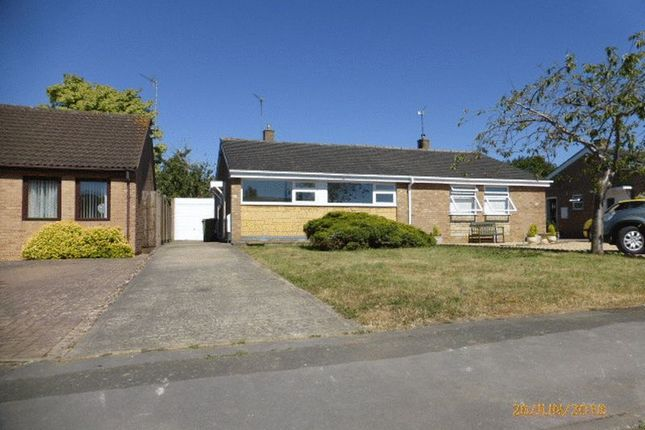 Thumbnail Semi-detached bungalow to rent in Harpfield Road, Bishops Cleeve, Cheltenham