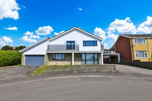 Thumbnail Detached house for sale in Parkdale View, Llantrisant, Pontyclun