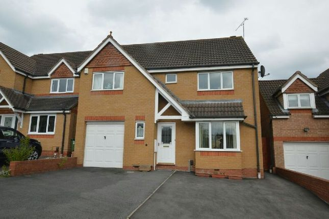 Thumbnail Detached house for sale in Sherard Way, Thorpe Astley, Leicester