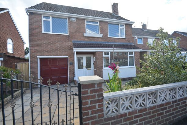 Thumbnail Detached house for sale in Lombard Drive, Chester Le Street