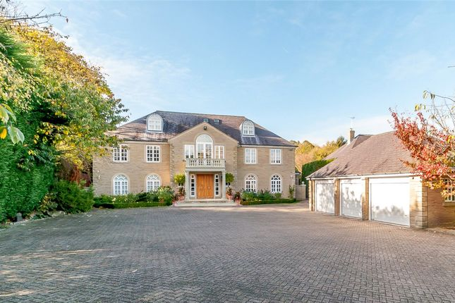 Thumbnail Detached house for sale in Chase House, 2 Wigton Chase, Alwoodley, West Yorkshire