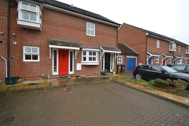 Thumbnail Terraced house to rent in The Moorings, Bishop's Stortford