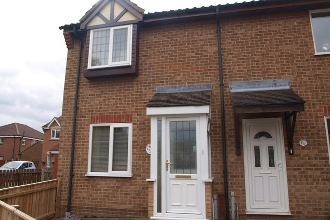 Thumbnail End terrace house to rent in Brick Kiln Road, North Walsham