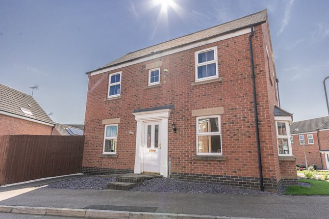 Thumbnail Detached house for sale in Burdock Way, Desborough, Kettering