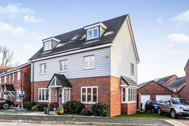 Thumbnail Detached house for sale in Noble Way, Cheswick Green, Solihull, West Midlands