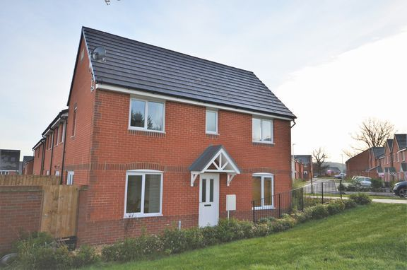 Thumbnail End terrace house for sale in Packer Road, Tiverton