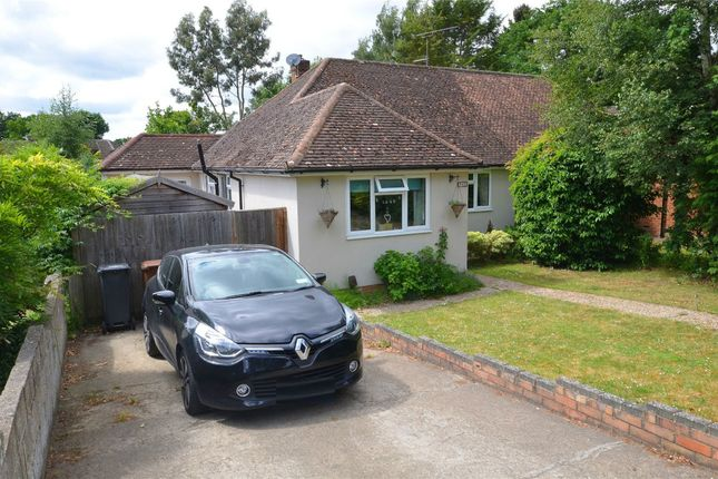 Thumbnail Semi-detached bungalow for sale in Wharf Road, Frimley Green, Surrey