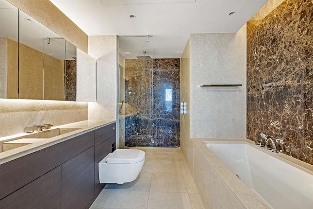 Bathroom of One St George Wharf, Nine Elms, London SW8
