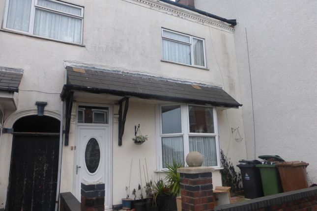 Thumbnail Terraced house for sale in Mount Street, Walsall