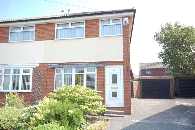 Thumbnail Semi-detached house for sale in Mooretree Drive, Blackpool