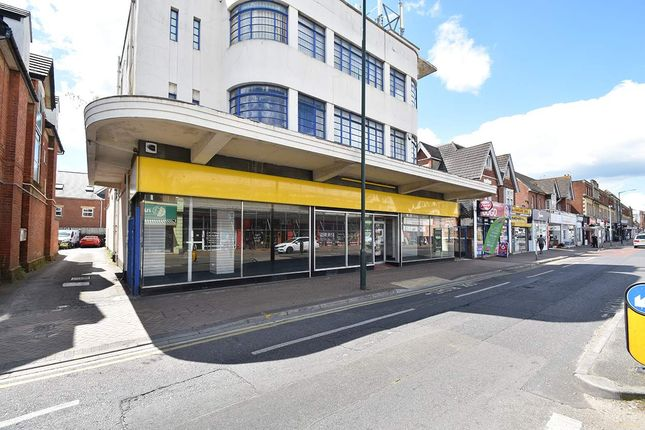 Retail premises to let in 709 Christchurch Road, Bournemouth