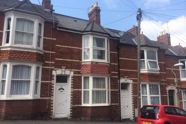 Thumbnail Terraced house to rent in Rosebery Road, Exeter