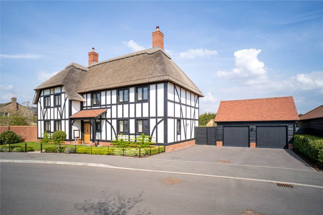 Thumbnail Detached house for sale in Kingshurst Gardens, Badsey, Worcestershire