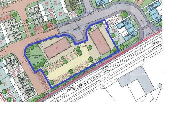 Thumbnail Commercial property for sale in Land At Bungay Road, Norwich, Norfolk