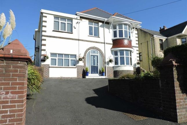 Thumbnail Detached house for sale in Pontardulais Road, Penllergaer, Swansea