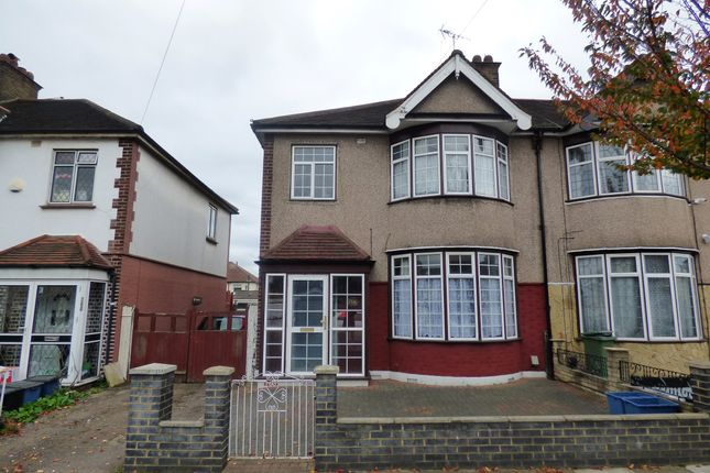 Thumbnail End terrace house for sale in Mortlake Road, Ilford