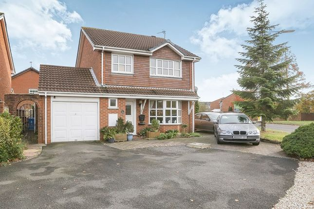 Thumbnail Detached house for sale in Stephenson Drive, Perton, Wolverhampton