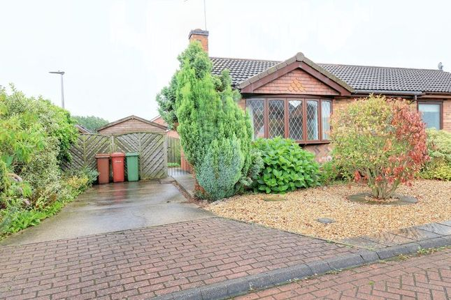 Thumbnail Semi-detached bungalow for sale in Conference Court, Bottesford, Scunthorpe