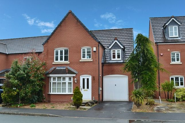 Thumbnail Detached house for sale in Chatsworth Fold, Ince, Wigan