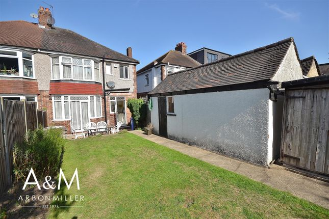 Rear Garden of Herent Drive, Clayhall, Ilford IG5