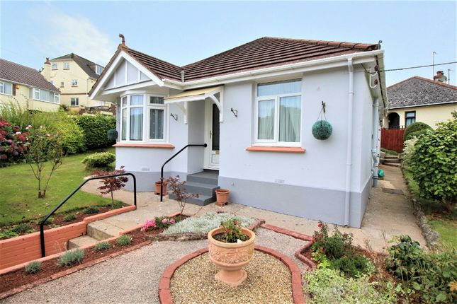 Thumbnail Detached bungalow for sale in Luscombe Road, Paignton
