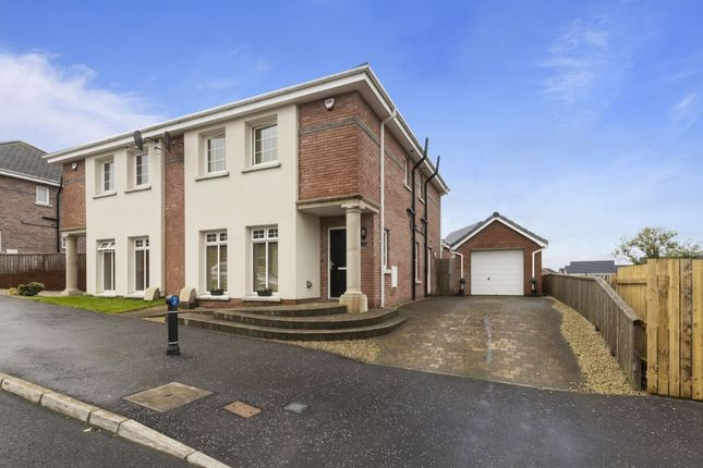 Thumbnail Semi-detached house for sale in Millreagh Green, Dundonald, Belfast