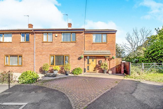 Thumbnail Semi-detached house for sale in Woodlands Court, Mancot, Deeside